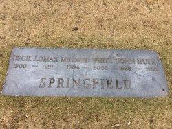Mildred <I>White</I> Springfield