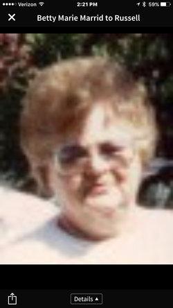"Betty Marie ""Marie"" <I>Bendus</I> Farnquist"