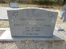 Emma Lee <I>Cook</I> Morris
