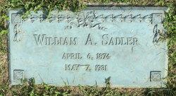William A Sadler