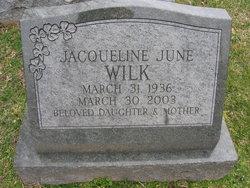 Jacqueline June Wilk