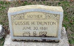 Gussie <I>Harmon</I> Taunton