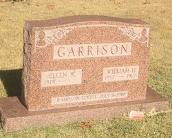 """Ellen Wilhemina """"Eddie"""" <I>Davies</I> Garrison"""