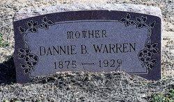 Mary Dannie <I>Brown</I> Warren