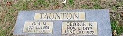 "George Newsome ""Good"" Taunton"