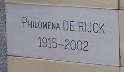 Philomena De Rijck