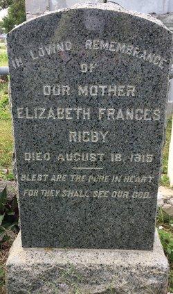 Elizabeth Frances <I>Camplejohn</I> Rigby