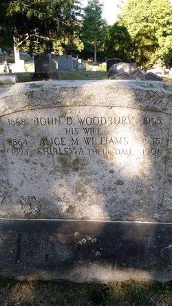 Alice M. <I>Williams</I> Woodbury