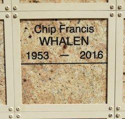 """Francis T. """"Chip"""" Whalen"""