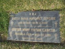 Sr Mary Fintan Lawlor
