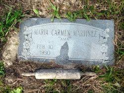 """Maria Carmen """"Ama"""" Martinez"""