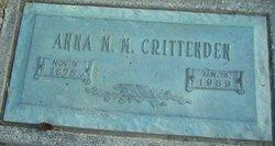 Anna Maude Mary <I>Hyde</I> Crittenden