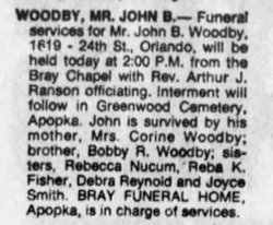 John B Woodby