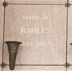 Mary M. <I>Bchuke</I> Rahlfs