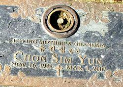 Chon Sim Yun