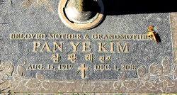Pan Ye Kim