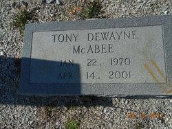 Tony Dewayne McAbee