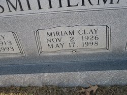 Miriam <I>Clay</I> Smitherman
