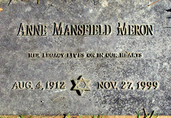 Anne <I>Mansfield</I> Meron