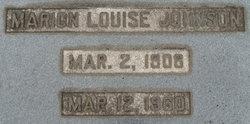Marion Louise Johnson