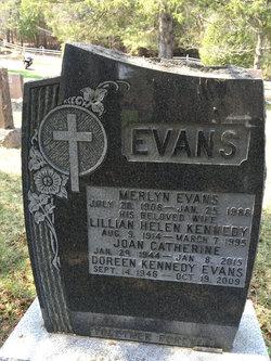 Lillian Helen <I>Kennedy</I> Evans
