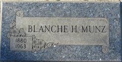 Blanche H. Munz