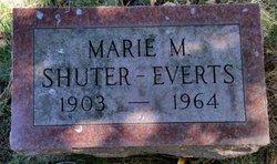 Marie M <I>Shuter</I> Everts