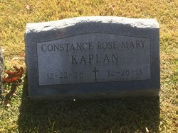 Constance Rose Mary Kaplan