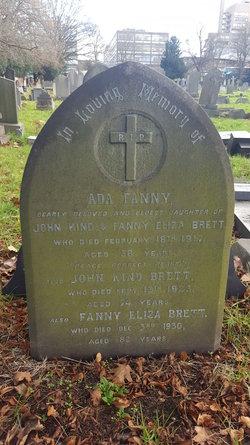 Fanny Eliza Brett