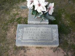 Barbara Ann <I>Edenfield</I> Bowen