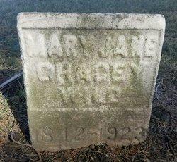 Mary Jane <I>Chacey</I> Wild