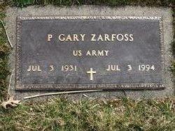 P. Gary Zarfoss