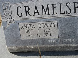 Anita <I>Dowdy</I> Gramelspacher