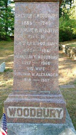 Virginia Marie <I>Alexander</I> Woodbury