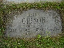 Helen <I>Milne</I> Gibson