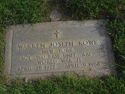 Warren Joseph Rowe