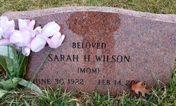 Sarah H. Wilson