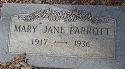 Mary Jane Parrott