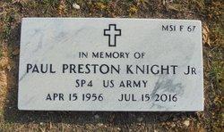 Paul Preston Knight, Jr