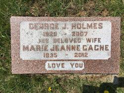 Marie Jeanne <I>Gagne</I> Holmes