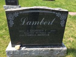 J. Geoffrey T. Lamert