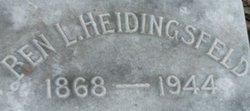 Benjamin L Heidingsfeld