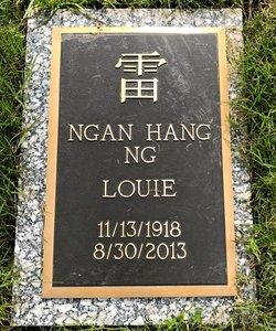 """Ngan """"Louie"""" Hang Ng"""