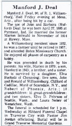 Manford J. Deal