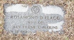 Rosamond D <I>Flagg</I> Perkins