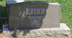 Eva May <I>Baird</I> Rice