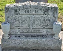 Wesley W Dodd, Sr