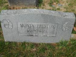 Monta Preston