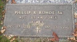 Phillip R. Rohde, Sr