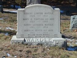 Aurilla F <I>Heath</I> Wardle